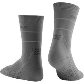 cep Reflective Mid Cut Socks Women, grey